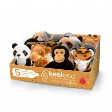 SE6691: 12cm Keeleco Collectables Wild- 6 Assorted (100% Recycled)