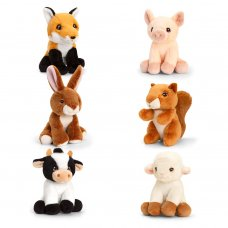 SE6692: 12cm Keeleco Collectables Farm- 6 Assorted (100% Recycled)