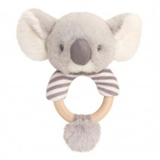 SE6713: 14cm Keeleco Cozy Koala Ring Rattle (100% Recycled)