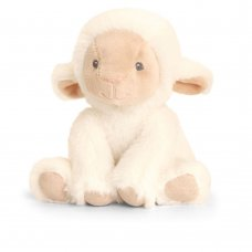 SE6725: 14cm Keeleco Lullaby Lamb (100% Recycled)