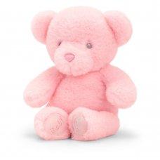 SE9101: 16cm Keeleco Baby Girl Bear (100% Recycled)