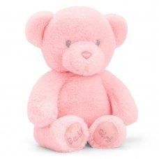SE9102: 20cm Keeleco Baby Girl Bear (100% Recycled)