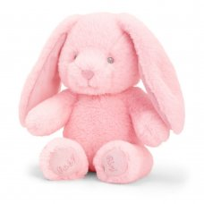 SE9107: 16cm Keeleco Baby Girl Bunny  (100% Recycled)
