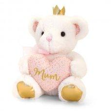 SM3315: 20cm Confetti Mum Bear With Heart