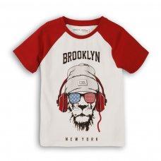 1KRAGLN 1P: Boys Brooklyn Raglan Tee (8-13 Years)