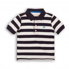 1POLOST 1PP: Boys Striped Polo Tee (8-13 Years)