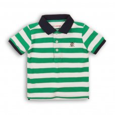 1POLOST 3: Boys Striped Polo Tee (9 Months-3 Years)