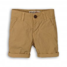 1SCHINO 1: Boys Tan Chino Short (9 Months-3 Years)