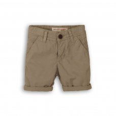 1SCHINO 2: Boys Grey Chino Short (9 Months-3 Years)