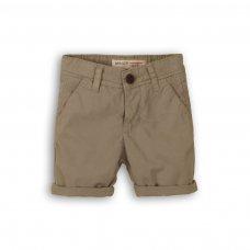 1SCHINO 2P: Boys Grey Chino Short (3-8 Years)