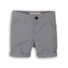 1SCHINO 4P: Boys Pale Blue Chino Short (3-8 Years)