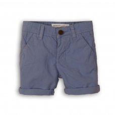 1SCHINO 8: Boys Sea Blue Chino Short (9 Months-3 Years)