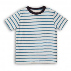 1STRIPE 6: Boys Crew Stripe Tee (9 Months-3 Years)