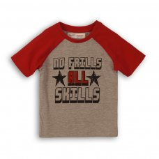 1TRAGLN 1: Boys No Frills Raglan Tee (9 Months-3 Years)