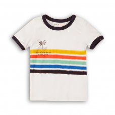 1TRING 4: Boys Surfing Ringer Tee (9 Months-3 Years)