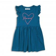 2KDRESS16: Girls Amour Jersey Dress (3-8 Years)