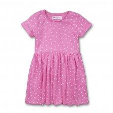 2KDRESS25: Girls Spotty Dress With Turn Up (3-8 Years)