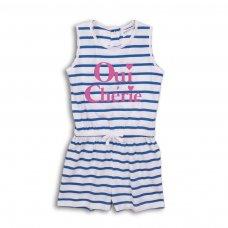 2KSPS16: Girls Oui Cherie Stripe Playsuit (3-8 Years)