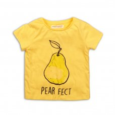 2KTEE15: Girls Pear Fect Graphic Tshirt (3-8 Years)