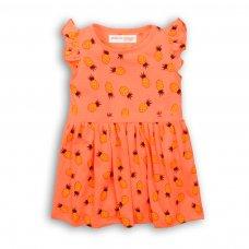 2TDRESS02: Girls Pineapple Dress (9 Months-3 Years)