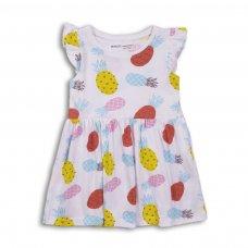2TDRESS03: Girls Hearts Dress (9 Months-3 Years)