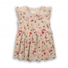2TDRESS04: Girls Aop Dress (9 Months-3 Years)