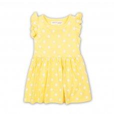 2TDRESS06: Girls Polka Dot Dress (9 Months-3 Years)