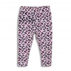 2TLEGG11: Girls Leopard Print Legging (9 Months-3 Years)