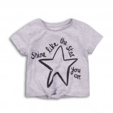 2TTEE10: Girls Shine Like The Star Graphic Tshirt (9 Months-3 Years)