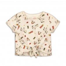 2TTEE11: Girls Aop Graphic Tshirt (9 Months-3 Years)