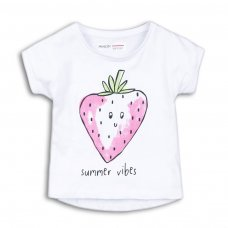 2TTEE07: Girls Summer Vibes Graphic Tshirt (9 Months-3 Years)
