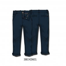 3BCHINO 1J:  Navy Chino Pant (3-8 Years)