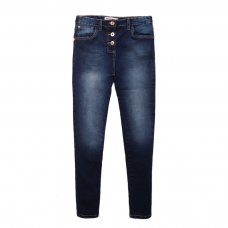 4GSUPSJN 14T: Dark Blue Super Skinny Jean (8-13 Years)