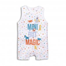 Bright 2: Sleeveless Short Leg Romper (0-12 Months)