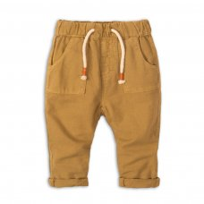 Camel 1P: Linen Look Pull On Pant (12-24 Months)