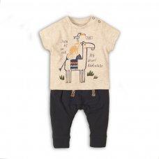 Camel 6P: 2 Piece Tshirt & Slub Legging Set (12-24 Months)