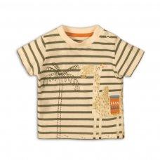 Camel 7P: Stripe T Shirt  (12-24 Months)