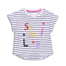 Candy 2: Smile Stripe Tshirt (9 Months-3 Years)