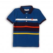 Coastal 1: Y/D Stripe Pique Polo (3-8 Years)