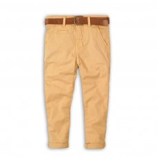 Coastal 3: Stone Chino Pant With Belt (3-8 Years)