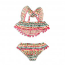 KG BIKINI 10: 2 Piece Frill Detail Bikini (3-8 Years)