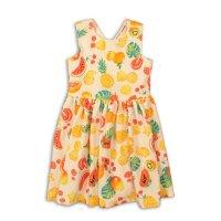 Lemdrop 7: Aop Jacquard Dress (3-8 Years)