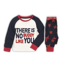 PYJA 2: 2 Piece This Is No Buddy Top / Ao Stars Pant Pyjama Set (9 Months-3 Years)