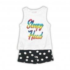 PYJA 36P: 2 Piece Sleepy Head Short Pyjama Set (8-13 Years)