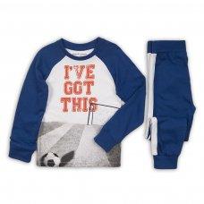 PYJA 9: 2 Piece I'Ve Got This Top / Blue Pant Pyjama Set (3-8 Years)