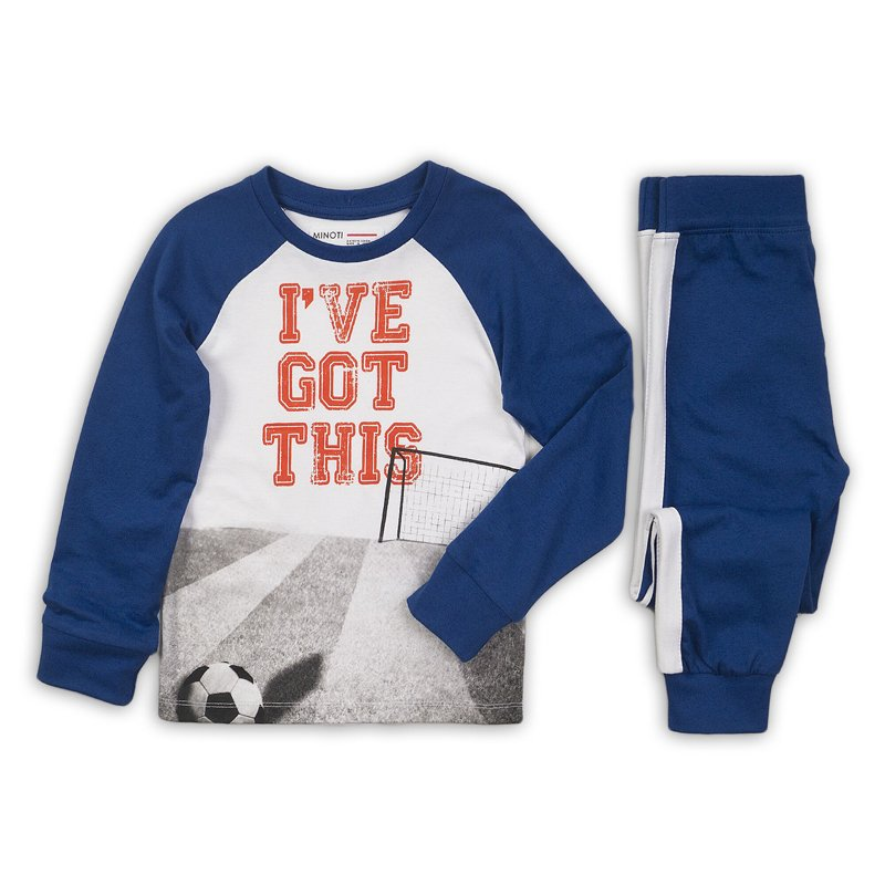 PYJA 9: 2 Piece I'Ve Got This Top / Blue Pant Pyjama Set (3-8 Years)
