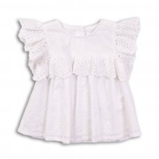 Picnic 4: Broderie Cotton Top (9 Months-3 Years)