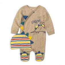 Rex 2: 2 Piece Sleepsuit & Hat Set  (0-12 Months)