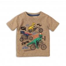Roar 3: Dinosaur Biker Tshirt (9 Months-3 Years)