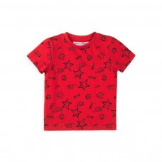 5TTEE 1K: Boys Yo Dude Crew T-Shirt (1-3 Years)